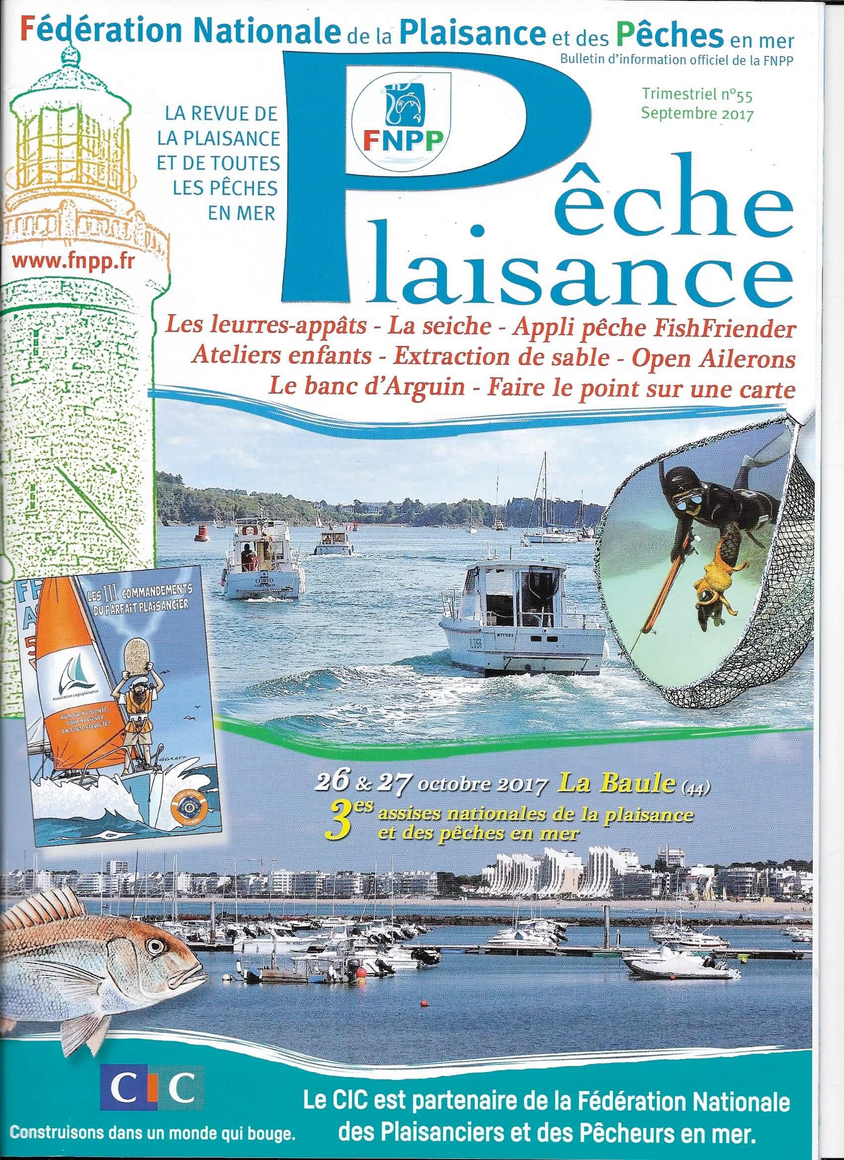 FNPP Pêche plaisance - Septembre 2017
