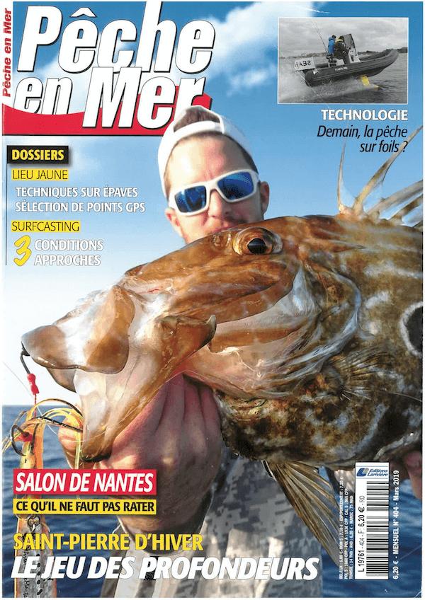 Pêche en Mer N°404 - Mars 2019