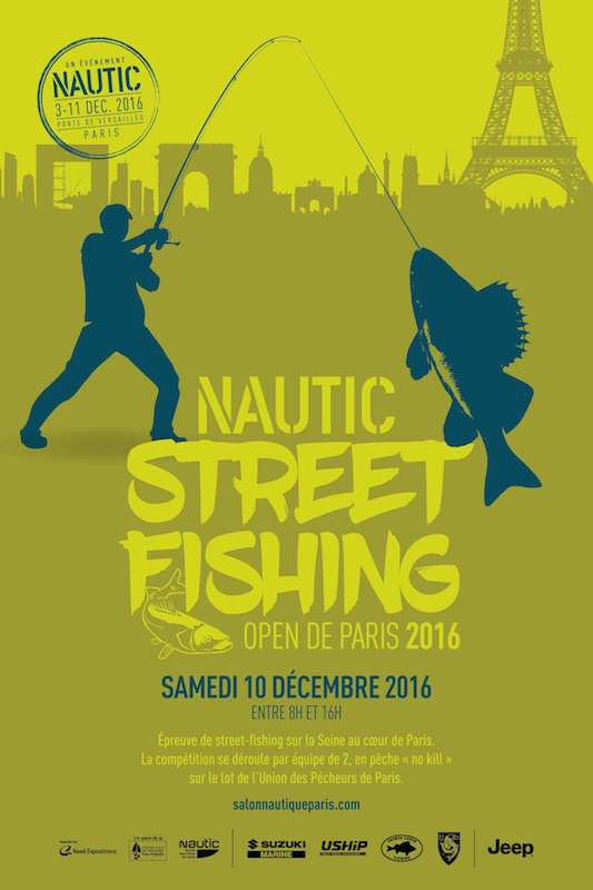 FishFriender | Nautic Street Fishing Paris 2016